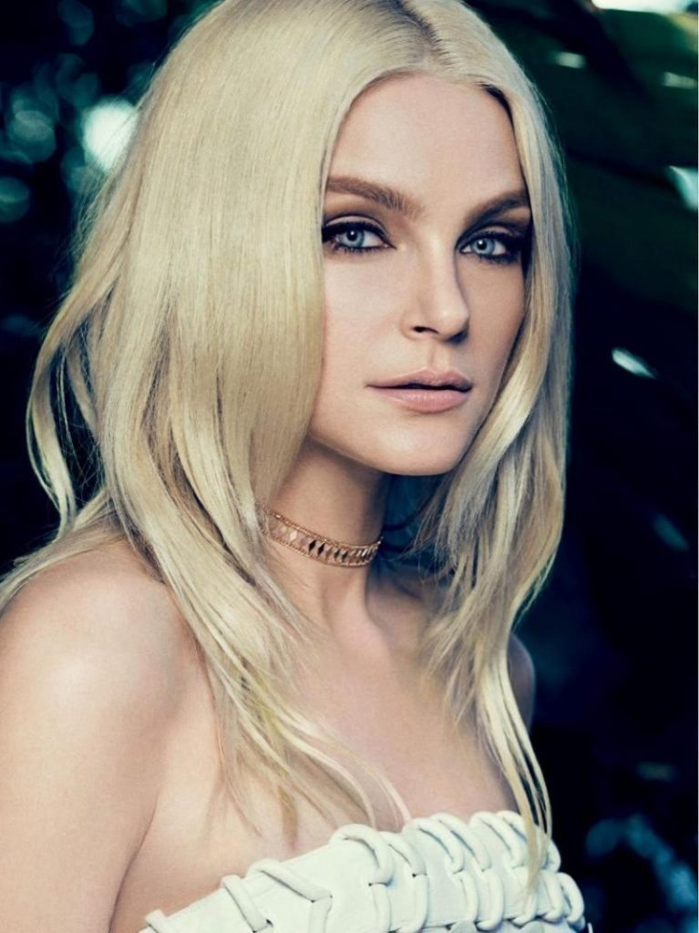 jessica-stam-hair-767x1024Model Jessica Stam shows off Gorgeous Summer Blonde Locks