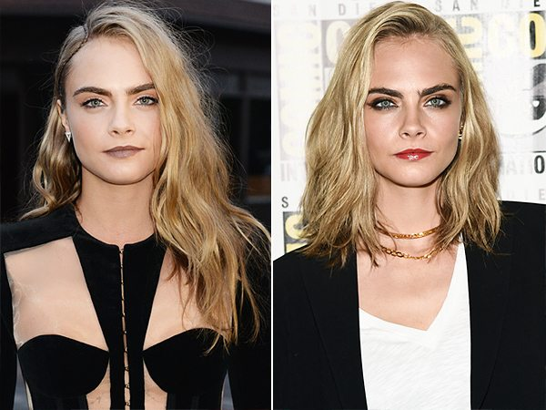 before-and-after-cara-haircutCommitting to the #HairChop - Cara Delevigne Style